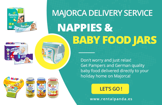 Nappies Delivery Mallorca