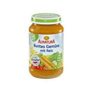 Alnatura baby food jar Rice with veggies