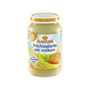 Alnatura baby food jar Fruit with wholemeal