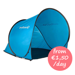 Hire a pop up beach tent Majorca