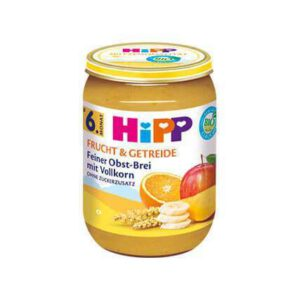 HIPP Fine Fruits with Wholemeal