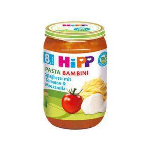 HIPP Spaghetti Tomato Mozzarella food jar