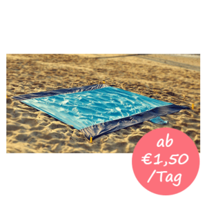 Stranddecke mieten auf Mallorca