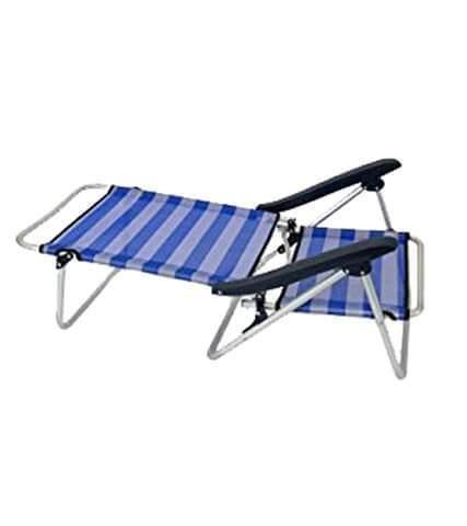 Strandstuhl klappbar zur Strandliege