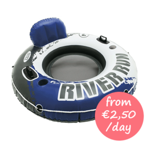 Hire a water tyre toy Majorca