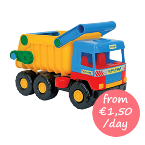 Hire beach toy truck Majorca