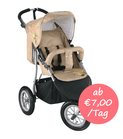 kinderwagen mieten mallorca sportwagen baby jogger. Black Bedroom Furniture Sets. Home Design Ideas