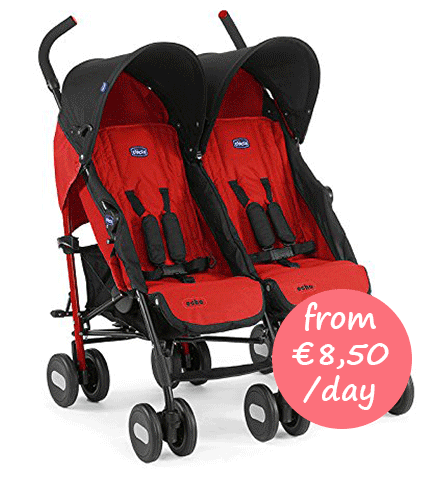 Hire a twin pushchair Majorca