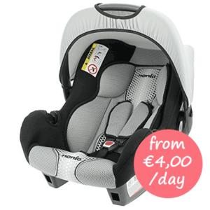 Hire baby car seat Mallorca