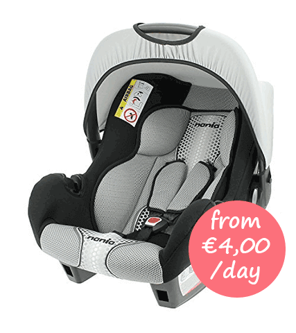 hire a baby car seat on mallorca. Black Bedroom Furniture Sets. Home Design Ideas