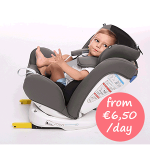 Hire infant car seat with Isofix Mallorca