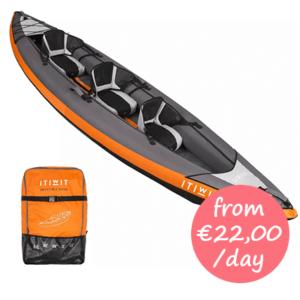 Kayak for hire Mallorca