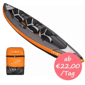Kayak mieten auf Mallorca